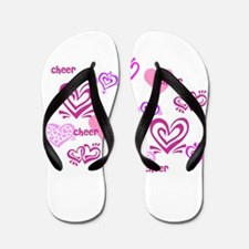 Love Cheer Flip Flops