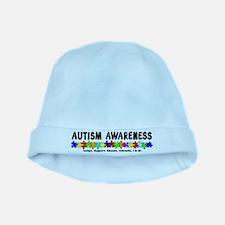 Aut Aware (Puzzle row) baby hat