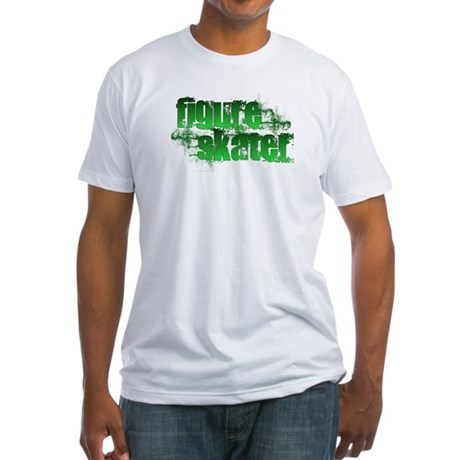 Skater Grunge Fitted T-Shirt