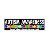 """Autism awareness 3"""" x 10"""""""