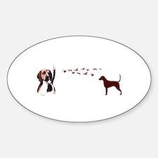 hound Decal
