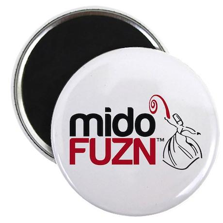 """MidoFUZN Logo 2.25"""" Magnet (100 pack)"""