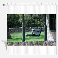 Porch Swing Shower Curtain
