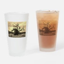 Texas Tree Drinking Glass