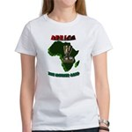 Africa, The Mother Land Woman's T-Shirt