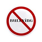 "No Bullying 3.5"" Button (100 pack)"