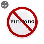 "No Bullying 3.5"" Button (10 pack)"