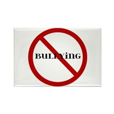 No Bullying Rectangle Magnet