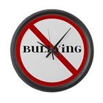 No Bullying Large Wall Clock