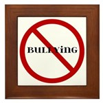 No Bullying Framed Tile