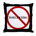 No Bullying Throw Pillow