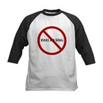 No Bullying Kids Baseball Jersey