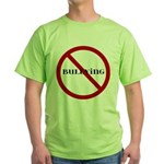 No Bullying Green T-Shirt