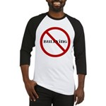 No Bullying Baseball Jersey