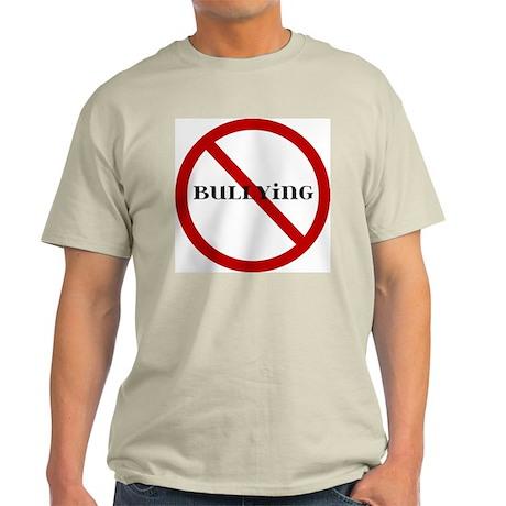 No Bullying Light T-Shirt