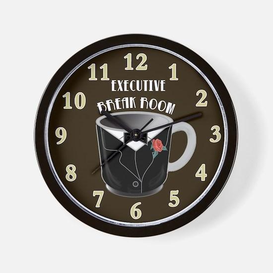 Executive break Room Art Deco Wall Clock