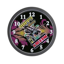 Happy Hour Art Deco Bar Wall Clock