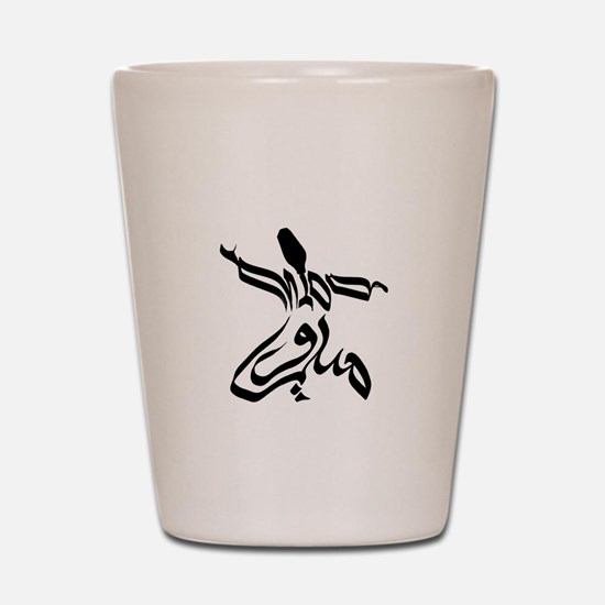 midoFUZN Dervish Shot Glass