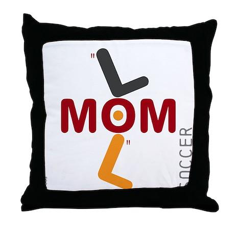 OYOOS Soccer Mom design Throw Pillow