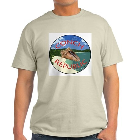 Conch Republic (Party Band) Ash Grey T-Shirt