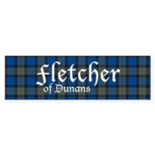 Tartan - Fletcher of Dunans Bumper Sticker