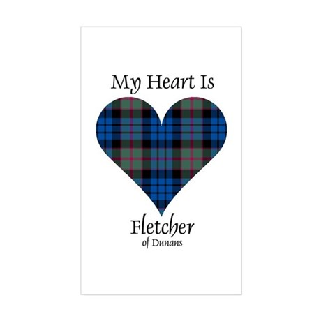Heart - Fletcher of Dunans Sticker (Rectangle)