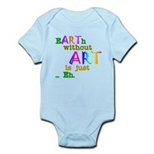 Earth Without Art Onesie