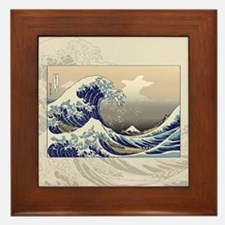 Hokusai The Great Wave Framed Tile