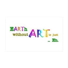EarthWithoutArt Wall Sticker