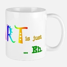 Earth Without Art Small Small Mug
