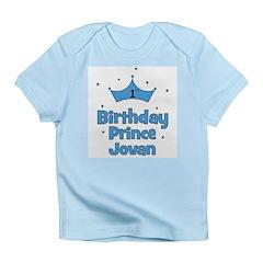 1st Birthday Prince JOVAN! Infant T-Shirt