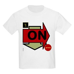 OYOOS Arrow OnOff design T-Shirt