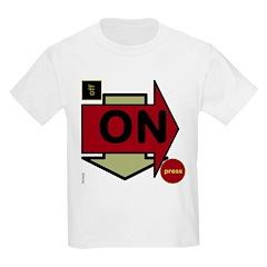 OYOOS Arrow OnOff design T-Shirt