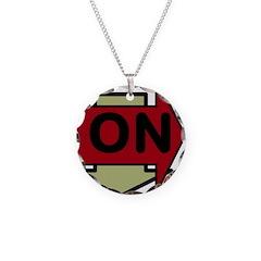 OYOOS Arrow OnOff design Necklace