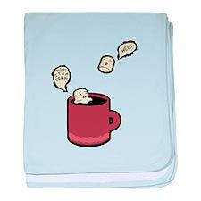 It's A Trap baby blanket