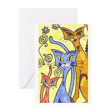 SlimKatz Greeting Card