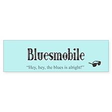 Bluesmobile Bumper Bumper Sticker