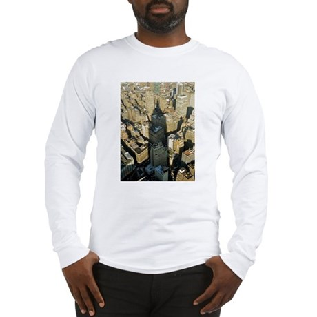 Empire State Building: Shadow Long Sleeve T-Shirt