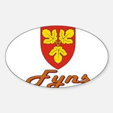 Fyns Oval Decal