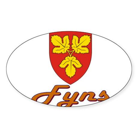 Fyns Oval Sticker