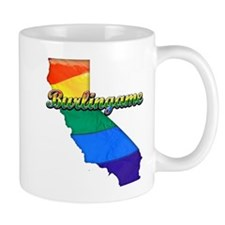 Burlingame, California. Gay Pride Mug