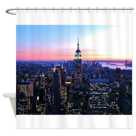 Empire State Building: Skylin Shower Curtain