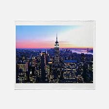 Empire State Building: Skylin Throw Blanket