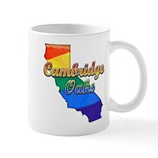 Cambridge Oaks, California. Gay Pride Mug