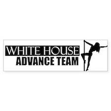 White House Advance Team - Bumper Bumper Sticker