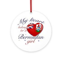 Bermudan Valentine's designs Ornament (Round)