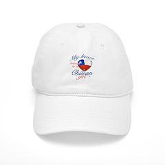 Chilean Valentine's designs Baseball Cap