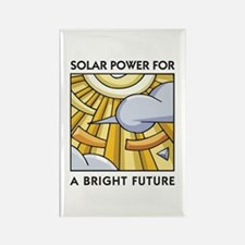 Solar Power for a Bright Future Rectangle Magnet