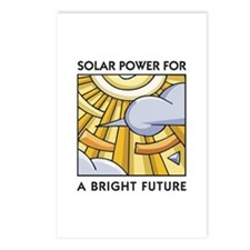 Solar Power for a Bright Future Postcards (Package