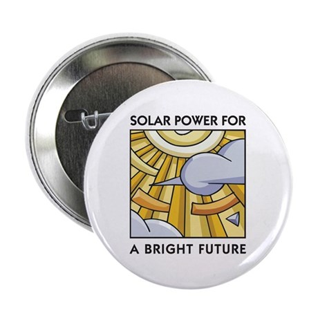 Solar Power for a Bright Future Button